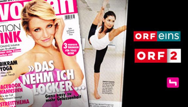 Bikram Yoga Schottenring in the Media