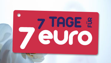 7 Tage / 7 Euro - Special