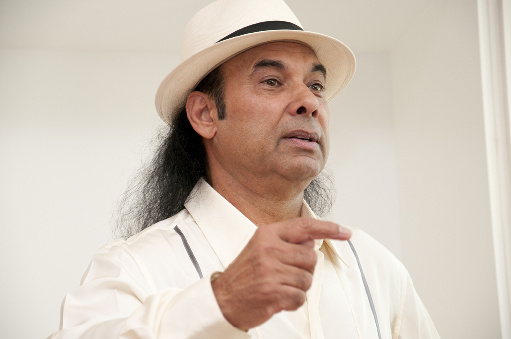 Bikram Choudhury in unserem Studio - 21 August 2010